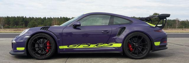 991 GT3RS Perfektionstraining