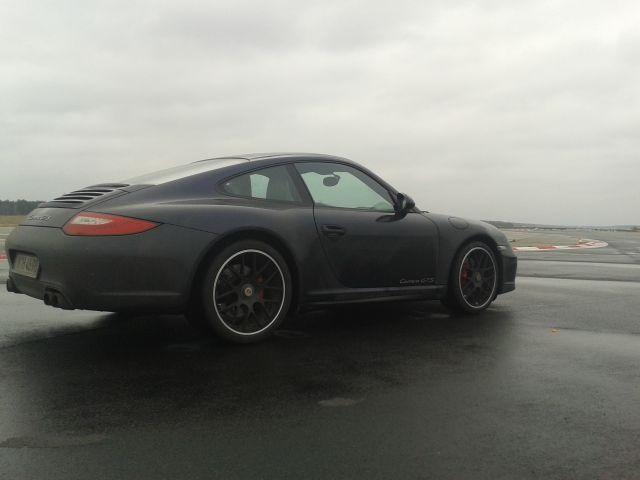 997 GTS im Regen