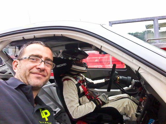 Racesupport direkt am Fahrzeug