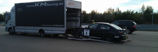 Roll Out support, BMW 320 WTCC
