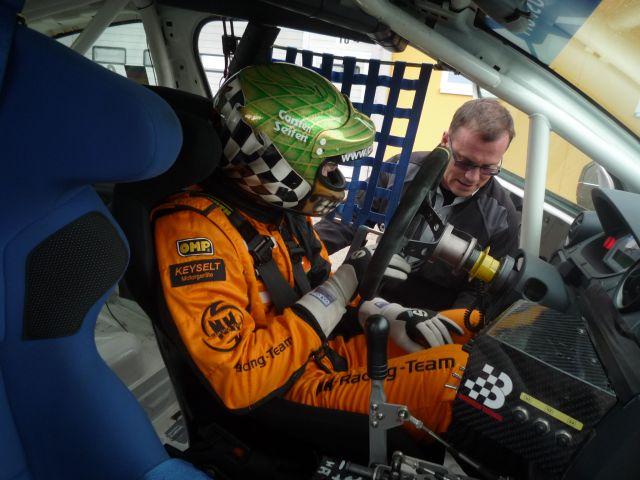Gepräch mit dem Haus Herren und Porsche Rallye Meister