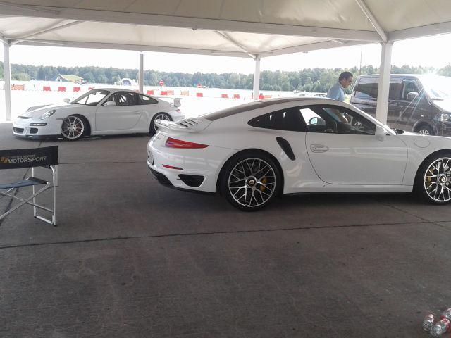 Mit dem turbo zur, mit dem GT3 auf die Strecke