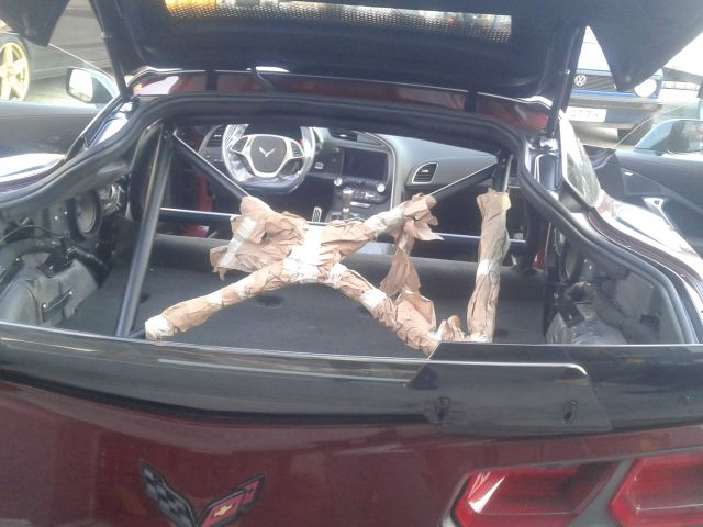 Umbau Tikt Corvette innen